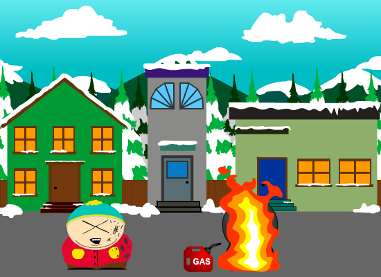 CT4 IGRAP Coursework 03 - South Park Flash animation